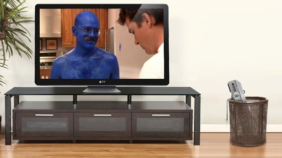 Apple Television montáž Gizmodo