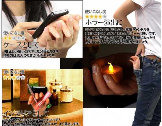 Puzdro v tvare ruky pre iPhone