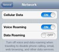 Blokovanie roamingu v iOS 5 Beta 3