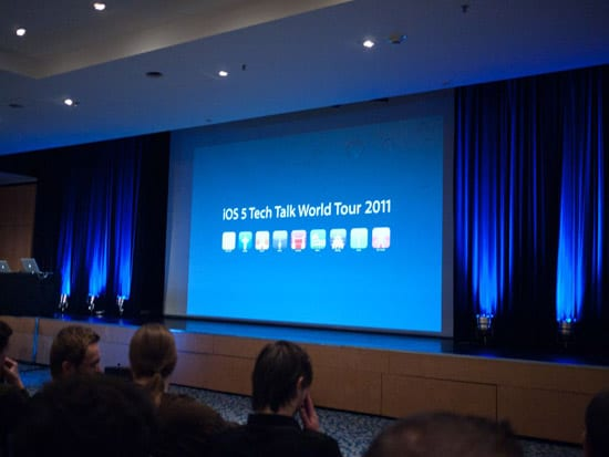 iOS Tech Talk World Tour 2011