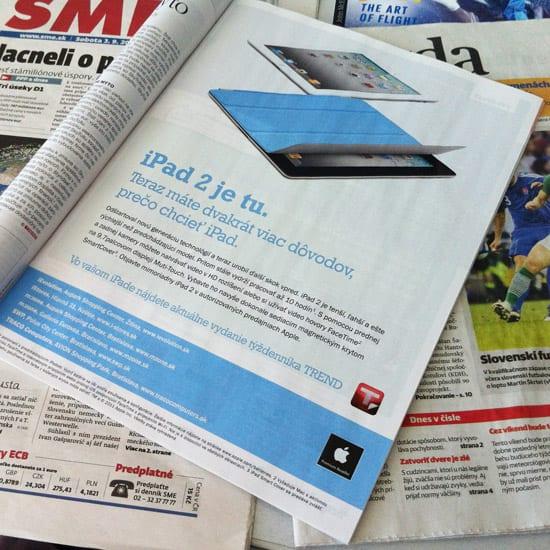 Apple iPad 2 reklama .týždeň