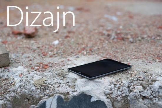 iPad Air dizajn