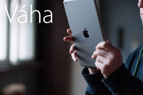 iPad Air váha
