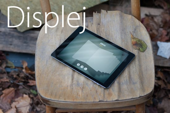 iPad Air displej