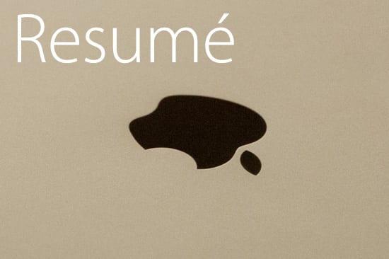 iPad Air resumé