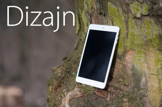 iPad mini dizajn