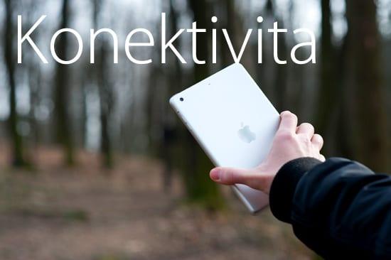 iPad mini konektivita