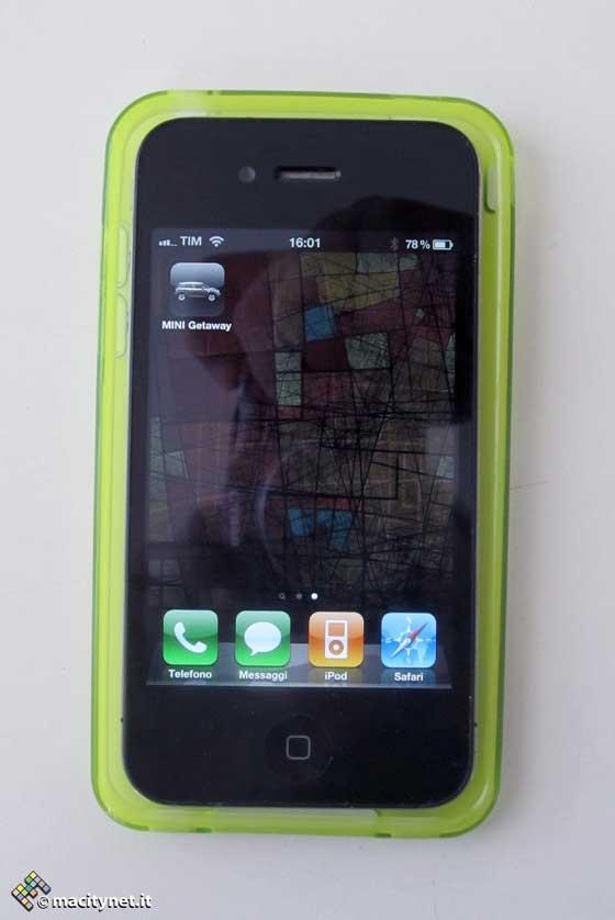 iPhone 4 v puzdre pre iPhone 5
