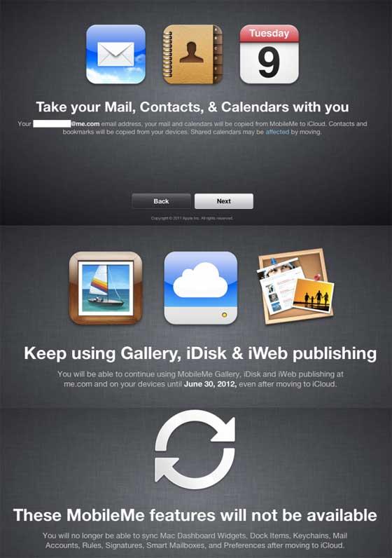 Prechod z MobileMe na iCloud