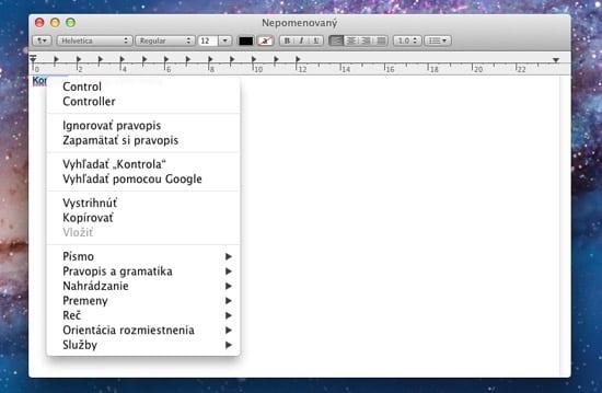 OS X Lion — Slovenčina