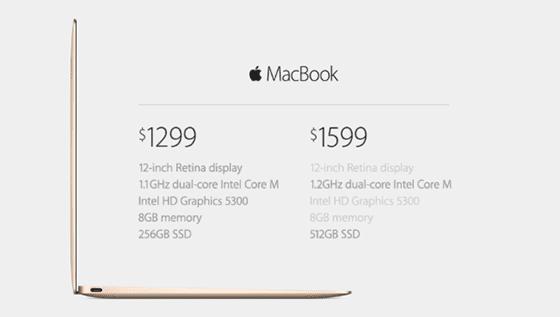 """springforwardevent mb prices - Podujatie Spring Forward #3: Nový 12"""" MacBook, vynovené MacBooky Pro a Air"""