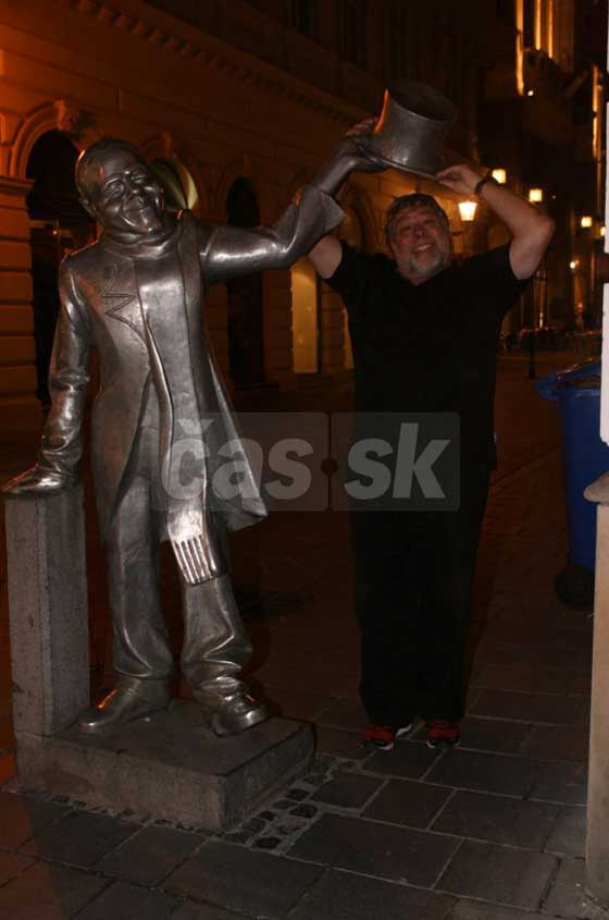 Steve Wozniak v Bratislave
