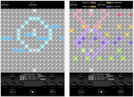 Yamaha Tenori-on TNRi pre iPad
