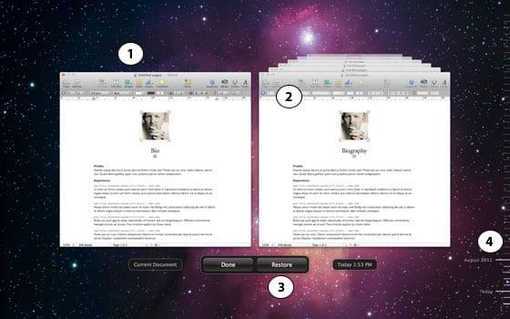 Prostredie Versions na prehliadanie strarších verzií dokumentov