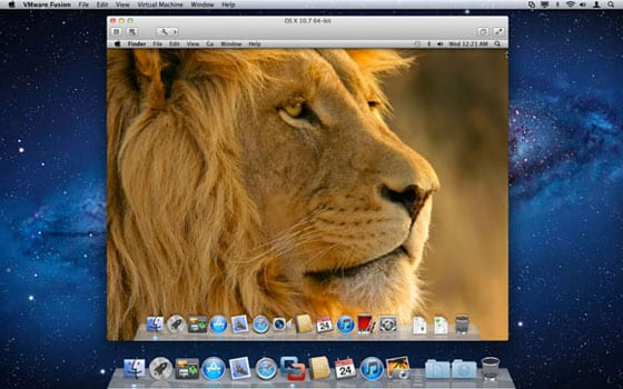 VMware Fusion 4 – OS X Lion host