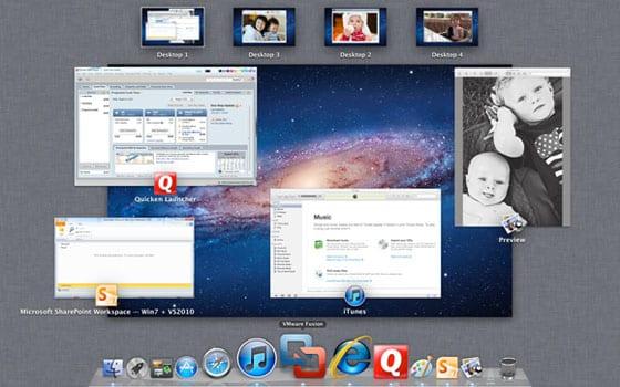 VMware Fusion 4 – Mission Control