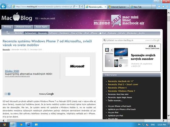 Microsoft Internet Explorer 10
